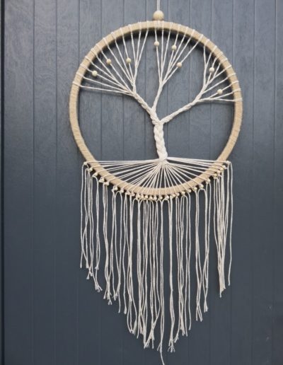 chinook spirit arbre de vie attrape reves lin jute