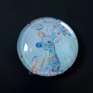 Aimant magnet biche pastel chinook spirit