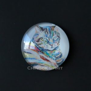 Aimant magnet chat tigre chinook spirit