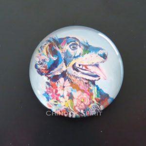 Aimant magnet chien chinook spirit