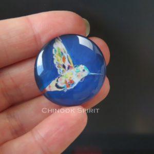 Aimant magnet colibri chinook spirit
