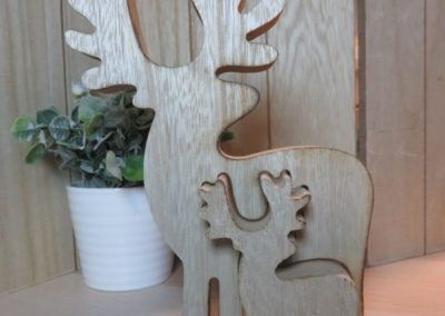 puzzle renne caribou bois maman bebe chinook spirit