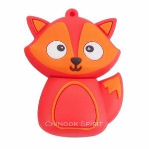 cle USB 32go fox renard orange Chinook spirit attrape reves stockage