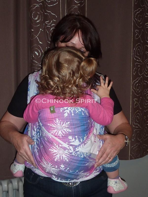 Portage echarge bebe chinook spirit