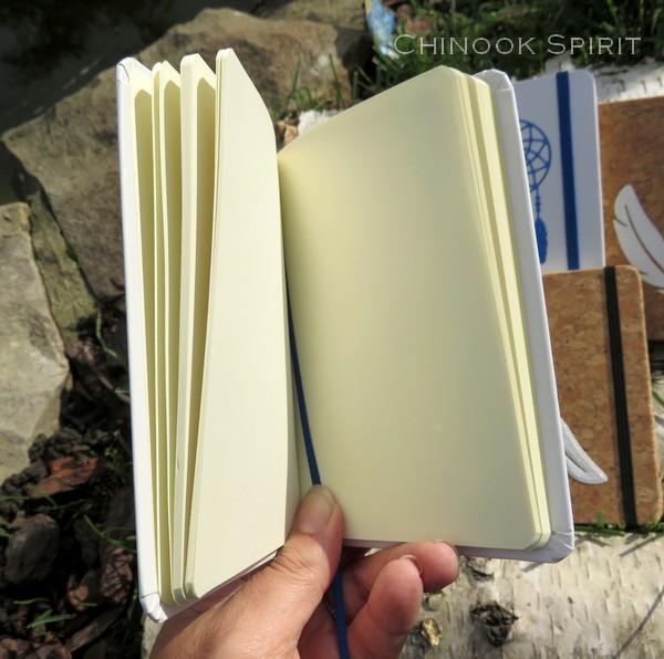Carnet liege blanc attrape reves chinook spirit 4852