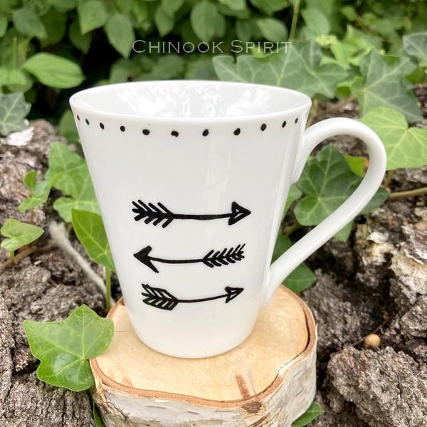 Mug Fleche Porcelaine 1 Chinook Spirit 4917