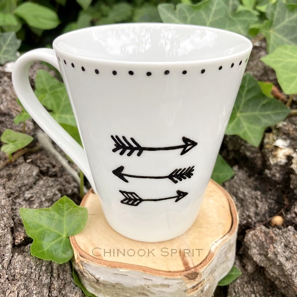 Mug Fleche Porcelaine 1 Chinook Spirit 4918