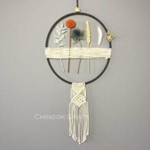 05 Attrape reves fleurs sechees macrame harmonie Chinook Spirit