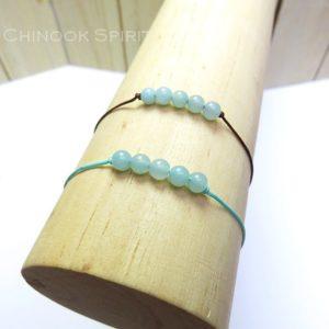 Bracelet Amazonite pierres naturelles Chinook Spirit 5295