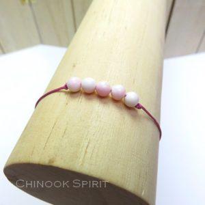 Bracelet Coquillage pierres naturelles Chinook Spirit 5300
