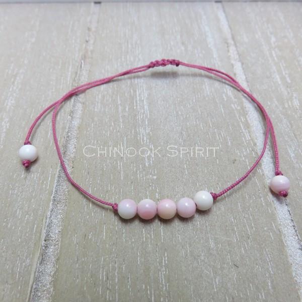 Bracelet Coquillage pierres naturelles Chinook Spirit 5313