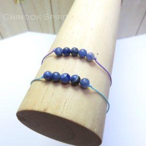 Bracelet Sodalite pierres naturelles Chinook Spirit 5289