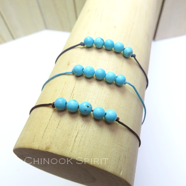 Bracelet Turquoise pierres naturelles Chinook Spirit 5298